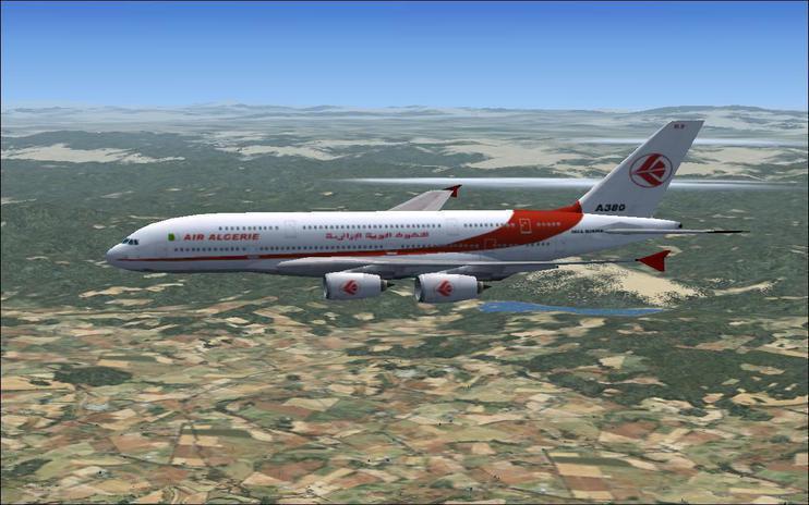 FSX Air Algérie Airbus A380 by Rafikpilote / FSX Add-ons