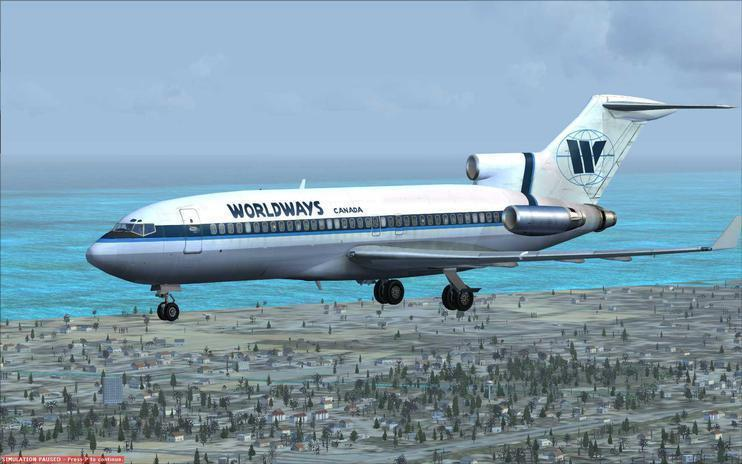 FSX Worldways Canada Boeing 727-100