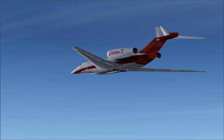 FSX Cessna Citation X 2008