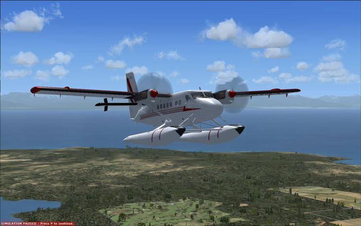 FSX De Havilland DHC6-300 Twin Sea Otter