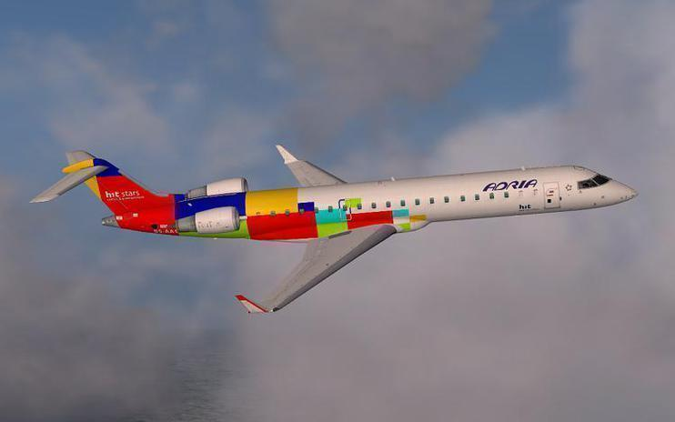 FSX Adria Airways Bombardier CRJ 700