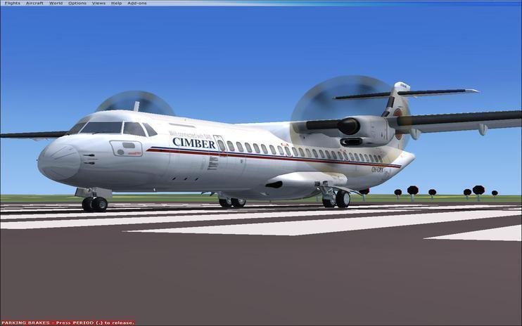 FSX Danish Air Transport ATR 72-500