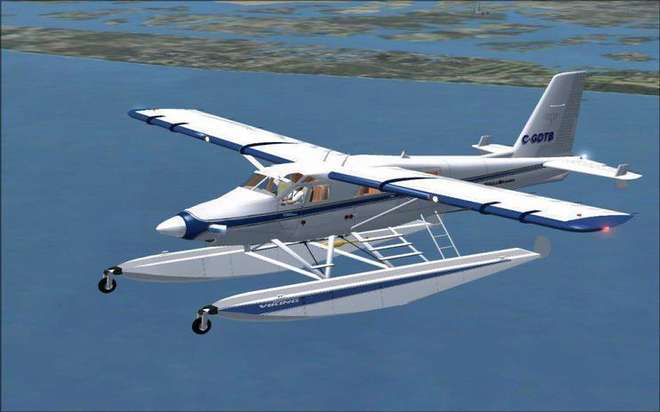 FSX Viking Air De Havilland DHC2T Turbo Beaver Amphibian