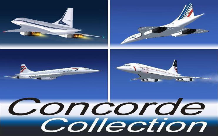 FSX Concorde Collection