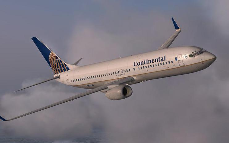 FSX Continental Airlines Boeing 737-800