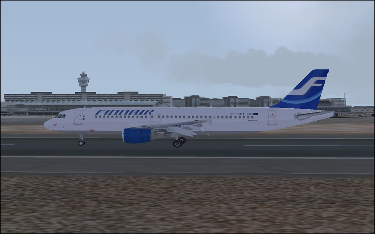 FSX Airbus A320 (3 liveries package