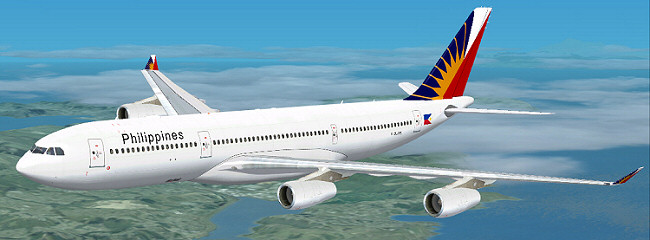 FSX Philippines Airbus A340-200
