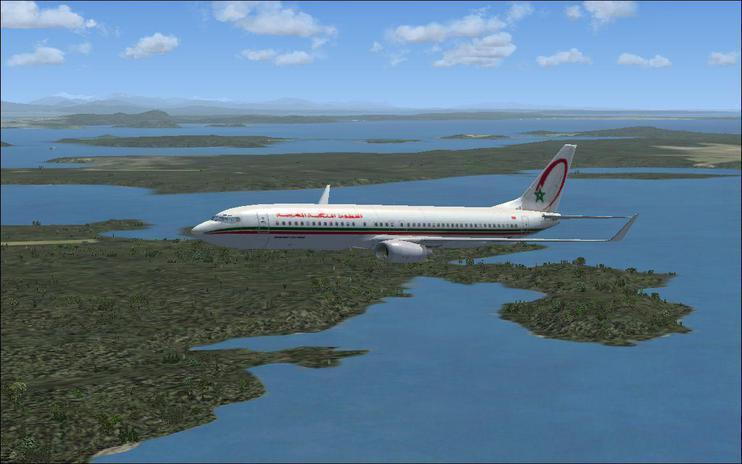 FSX 737-800 Royal Air Maroc
