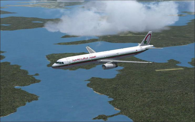 FSX A321 Royal Air Maroc CN-RNX