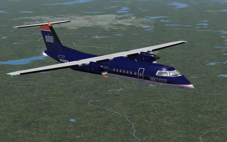 FSX Caribbean Pair De Havilland DHC8-300
