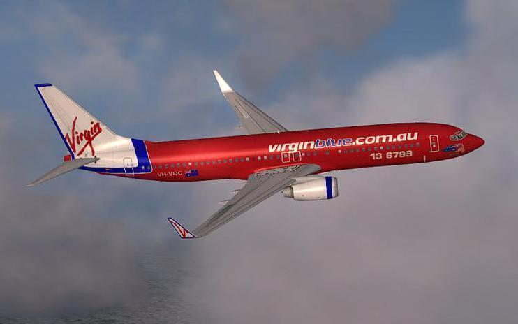 FSX Virgin Blue Boeing 737-800