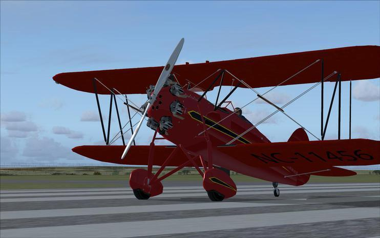 FSX FSX Golden Age Simulations WACO RNF Textures