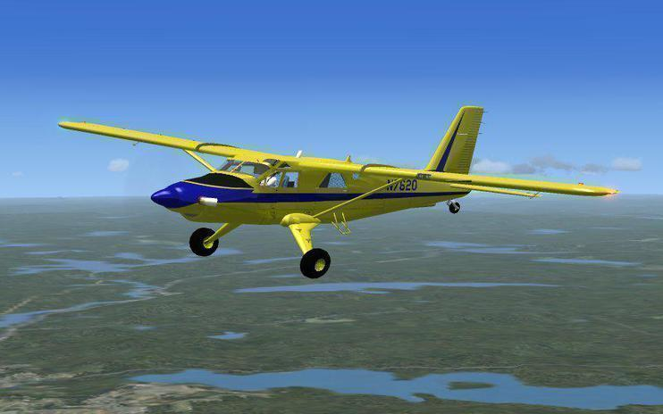 FSX Merric Aviation De Havilland DHC2 - MkIII Turbo Beaver