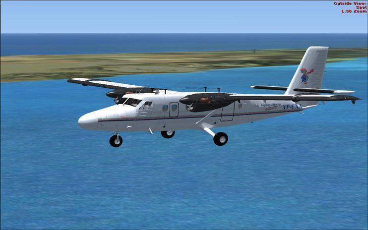 FSX De Havilland DHC6-300 Twin Otter
