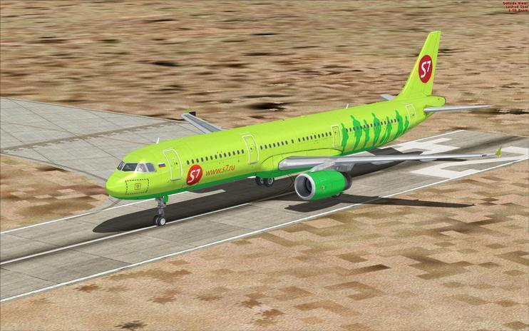 FSX Sibir Airlines Airbus A321