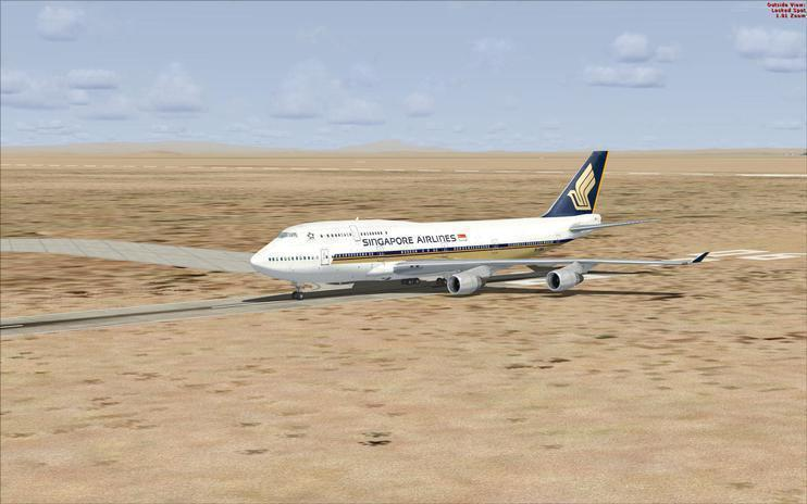 FSX Singapore Airlines Boeing 747-400