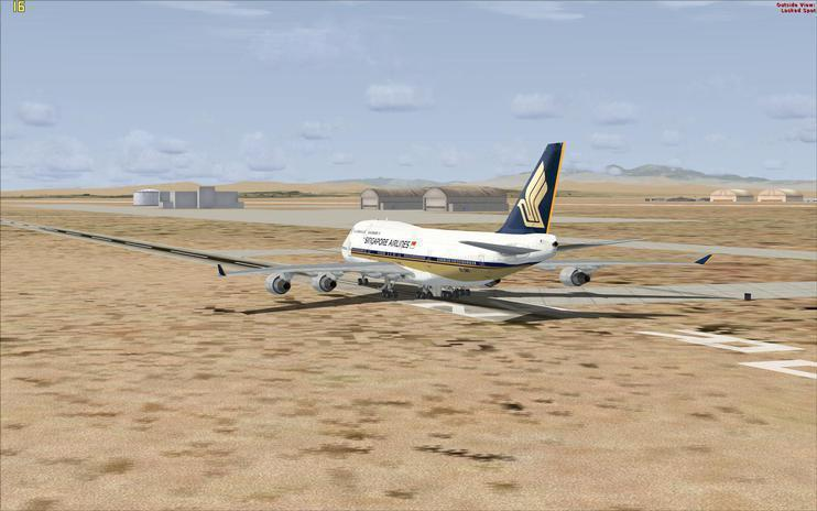 FSX Singapore Airlines Boeing 747-400 'New A380 style'