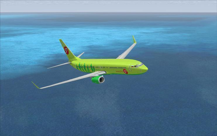 FSX Sibir Airlines Boeing 737-800