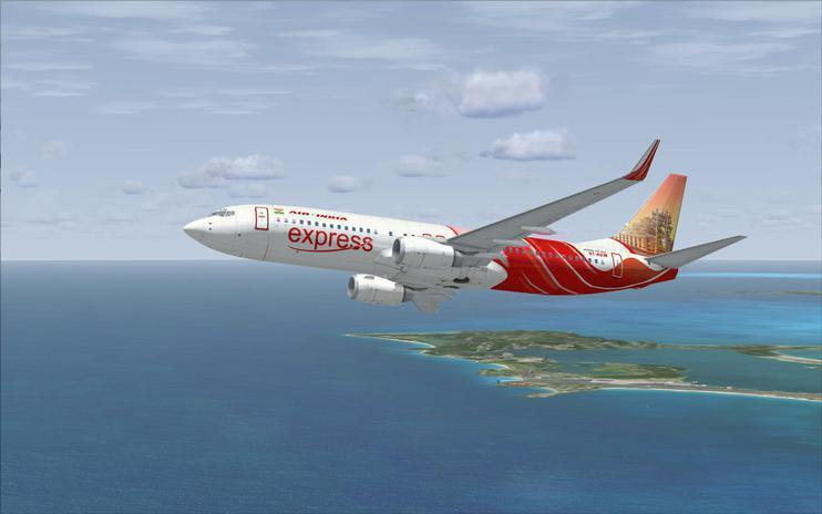 FSX Air India Express Boeing 737-800 (VT-AXW