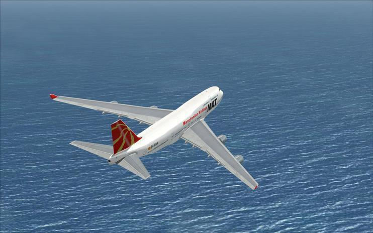 FSX Macedonian Airlines Boeing 747-400