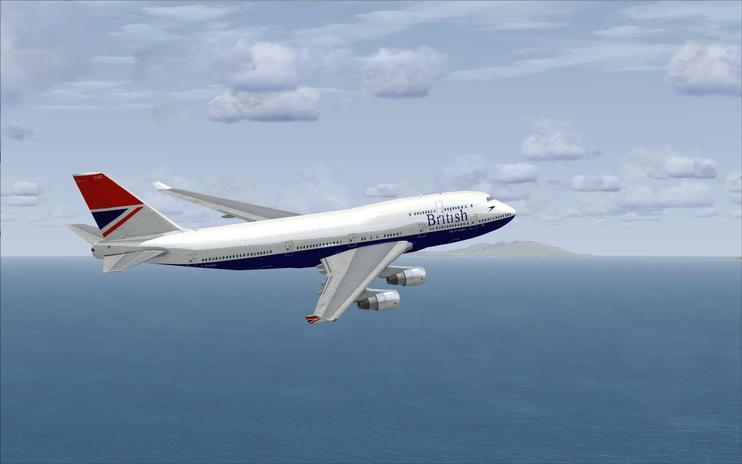 FSX British Airways Boeing 747-400 (Post BOAC