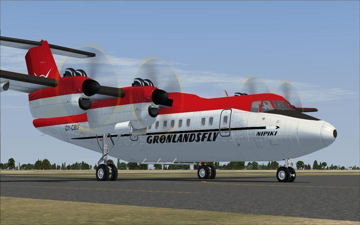 FSX Dehavilland DHC7 Dash 7