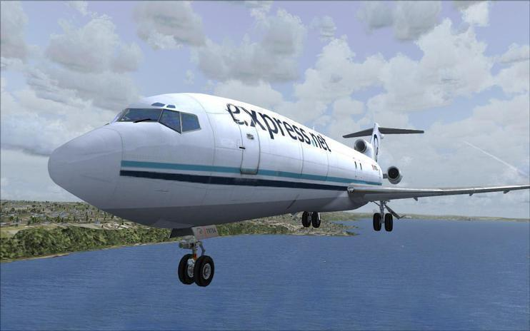 FSX Express.Net Airlines Boeing 727-200
