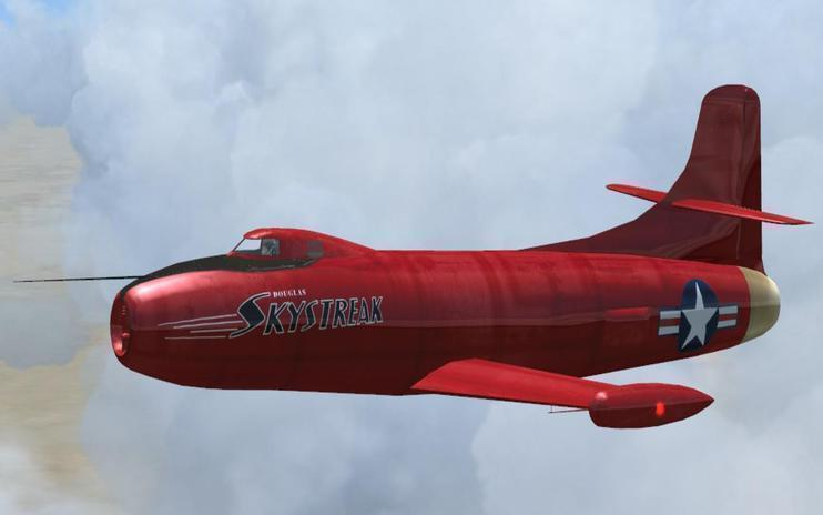 FSX Douglas Skystreak