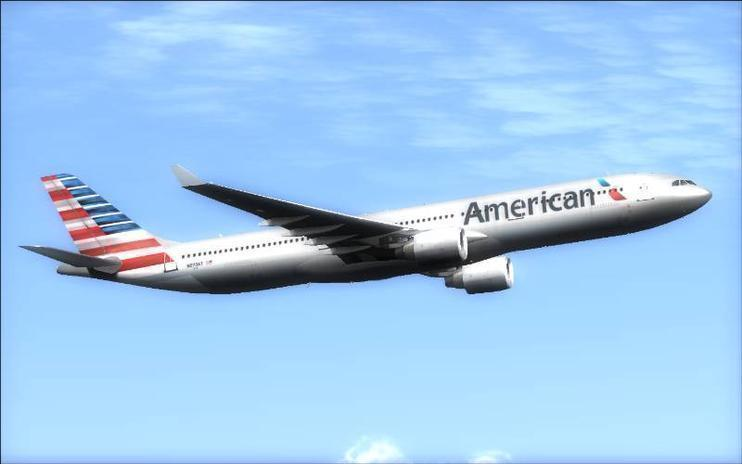 FSX American Airlines Airbus A330-300