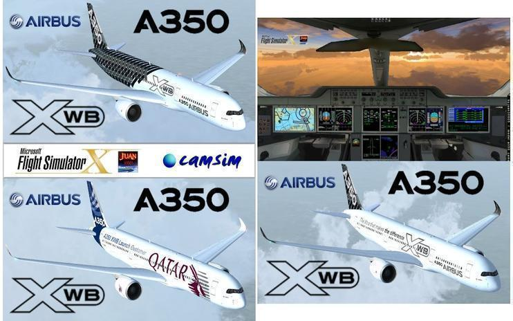 FSX Airbus A350 XWB - Final Pack