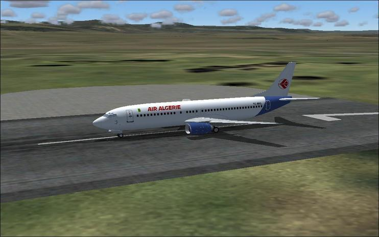 FS2004 air algerie b734
