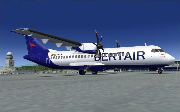 FS2004/FSX Bertair ATR 72-500