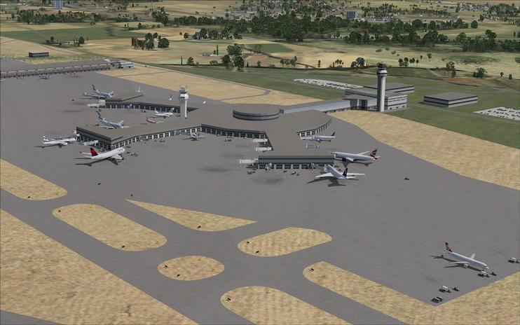FSX Scenery - Ben Gurion International Airport