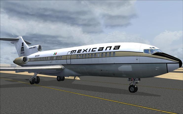 FSX Mexicana de Aviacion Boeing 727-100