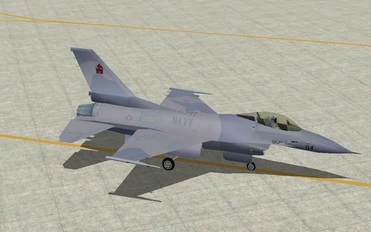 FS2004 US Navy VF-43 Pack For Retro AI Traffic