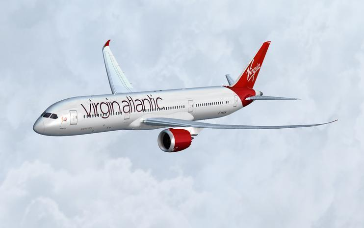 FS2004/FSX Virgin Atlantic Boeing 787-9