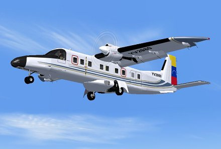 FSX Venezuelan Government Dornier Do228