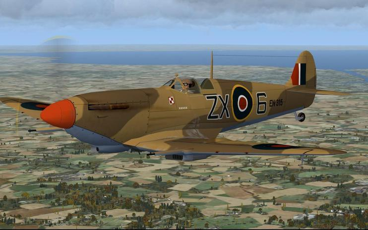 FSX Panel Update For The Alpha Spitfire