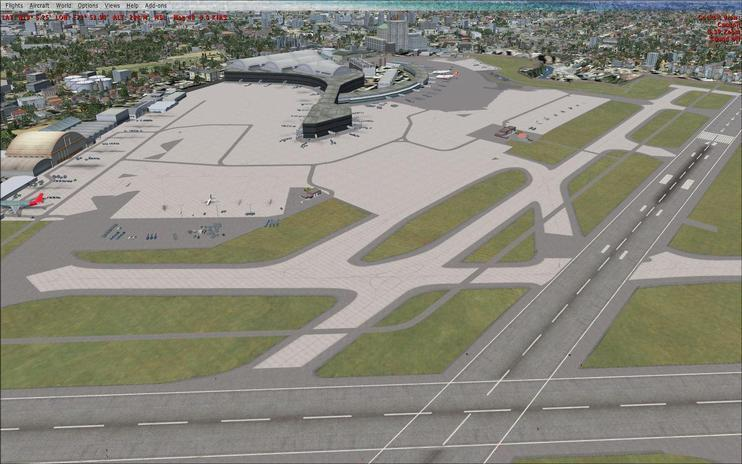 FSX Scenery - Mumbai Chhatrapati Shivaji International Airport