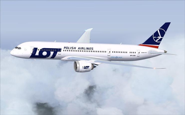 FS2004 LOT Polish Airlines Boeing 787-8