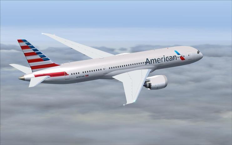 FSX American Airlines Boeing 787-8
