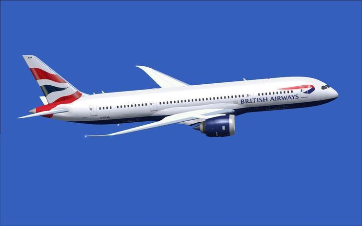 FS2004 British Airways Boeing 787-8