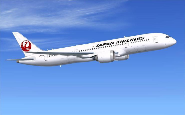 FSX Japan Airlines Boeing 787-8