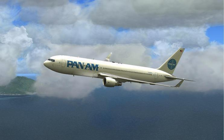 FSX Pan Am Boeing 767-300