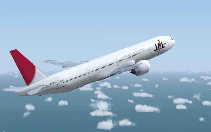 FS2004 Japan Airlines Boeing 777-300ER
