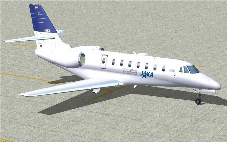 FS2004 JAXA Cessna Citation Sovereign