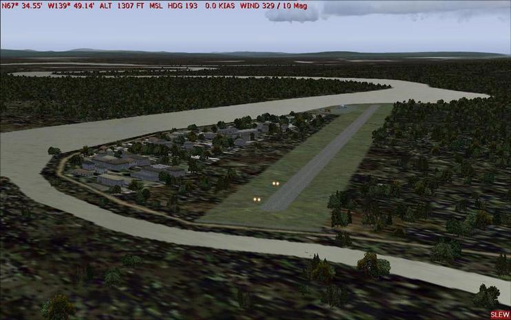 FS2004 Scenery - Old Crow