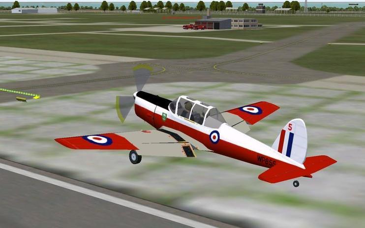 FS2004 RAF DeHavilland Chipmunk T10