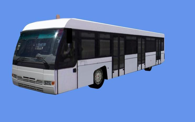FSX Scenery Object - Cobus 3000 Airport Bus