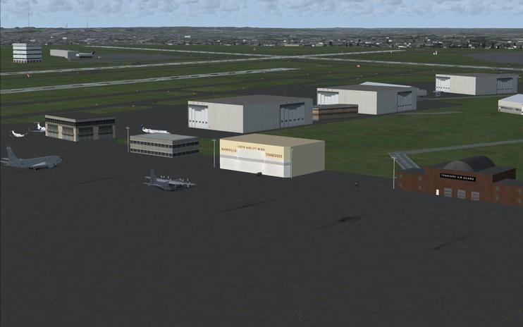 FSX Scenery - Nashville International Airport